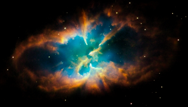 NGC 2818, Hubble photograph, courtesy NASA, November 2008.